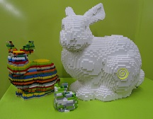 Leopold the Lego Standford bunny